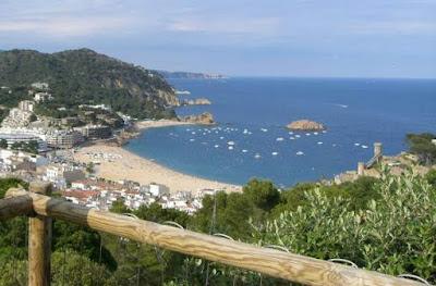 Camino de Ronda en Tossa de Mar