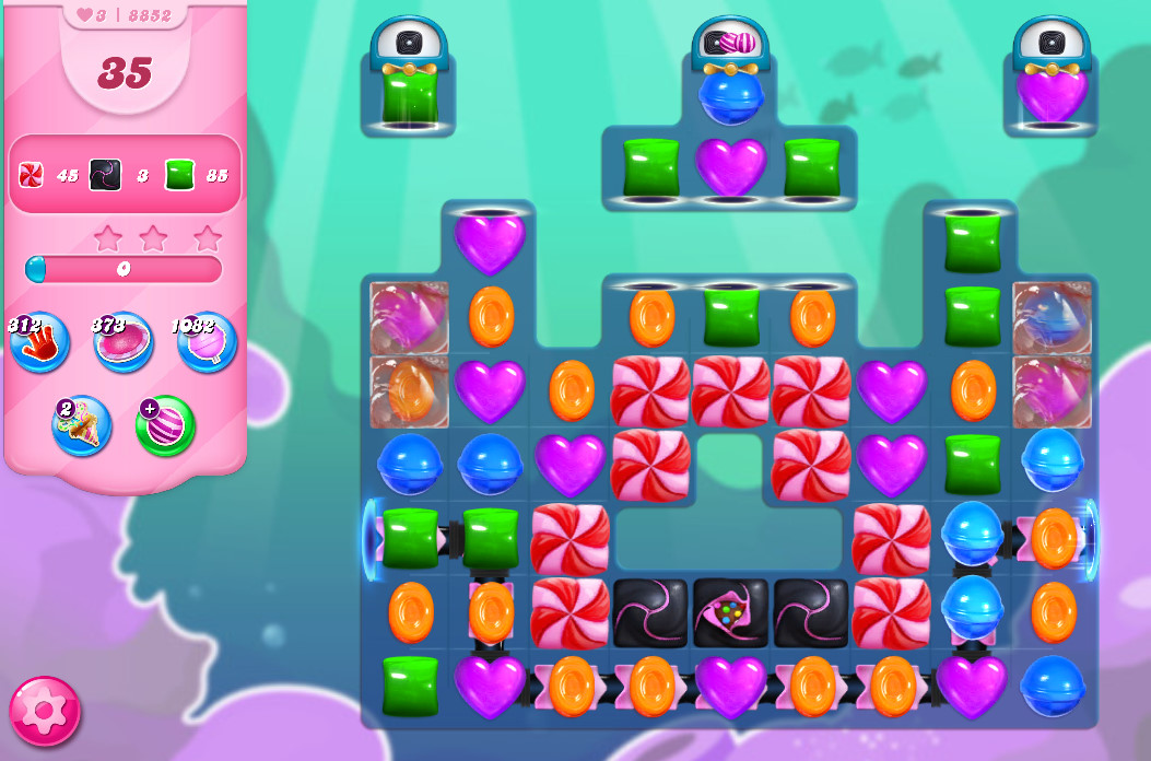 Candy Crush Saga level 8852