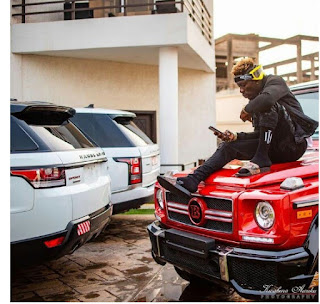 Shatta Wale Shows Off His Expensive Rides [Photos]