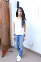 Telugu Actress Mahima Makwana Exclusive Stills in Blue Denim Jeans  0146.JPG