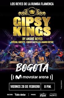 Concierto de GIPSY KING BY ANDRE´ REYES en Colombia