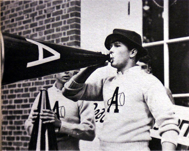 George W Bush Cheerleader at Phillips Academy c1960