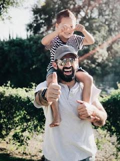 Autocuidado pais e filhos