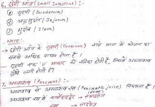 General Science Hand Written Notes in Hindi.