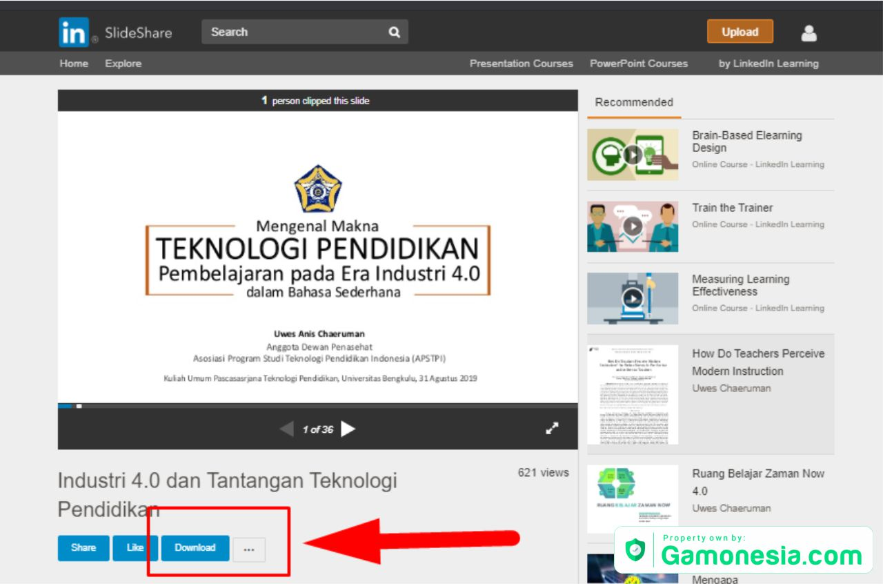 cara download ppt di slideshare tanpa akun