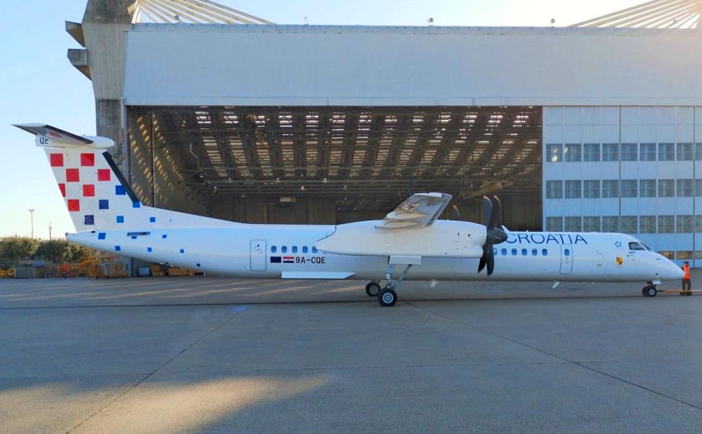 Croatia Airlines deploys turboprops on majority of flights