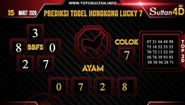 PREDIKSI TOGEL HONGKONG LUCKY 7 SULTAN4D 15 MARET
