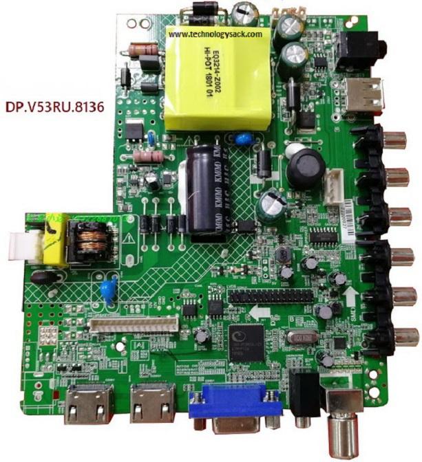 DP V53RU 8136 Combo LED TV Board Software Download