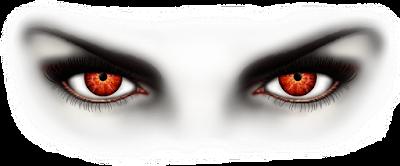 صورة لعينان تعبر عن الشر أو نظرة الحسد