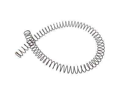 Custom Long Compression Springs In 17-7PH Material - 30.331 Overall Length