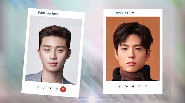 The History of Smile Actor Park Bo Gum and Park Seo Joon | Review in 2021