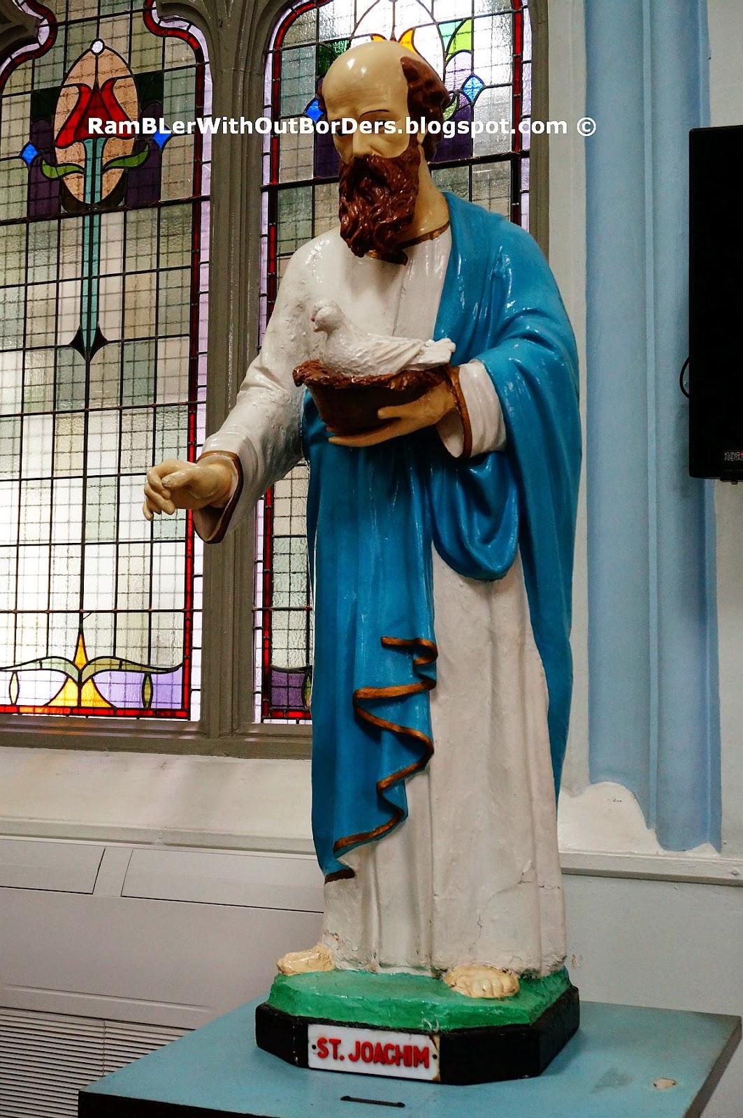 St Joachin statue, St Joseph's Church, Victoria St, Singapore