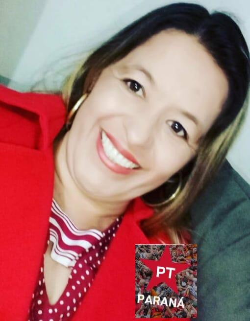 Professora Lú Reis e pré candidata a prefeitura de Ibaiti