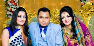 Mishu Sabbir And His Wife Shamma Holud Wedding Photos With Aporna