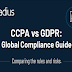CCPA vs GDPR: Global Compliance Guide #infographic