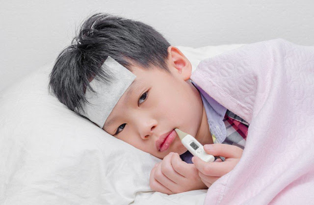 gejala tipes pada anak usia batita