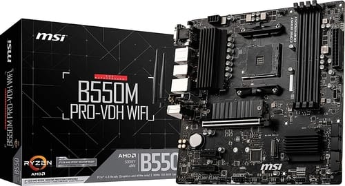 Review MSI B550M PRO-VDH WiFi ProSeries Motherboard