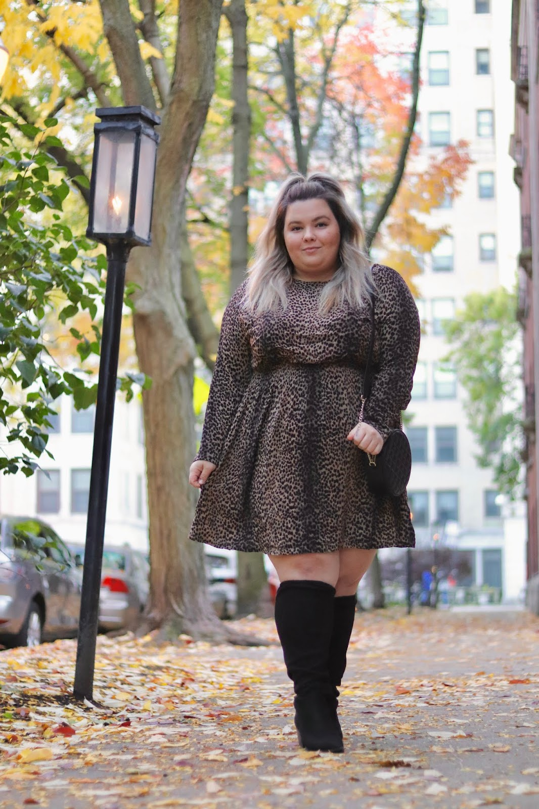Chicago Plus Size Petite Fashion Blogger, influencer, YouTuber, and model Natalie Craig, of Natalie in the City, reviews H&M's plus size dresses.