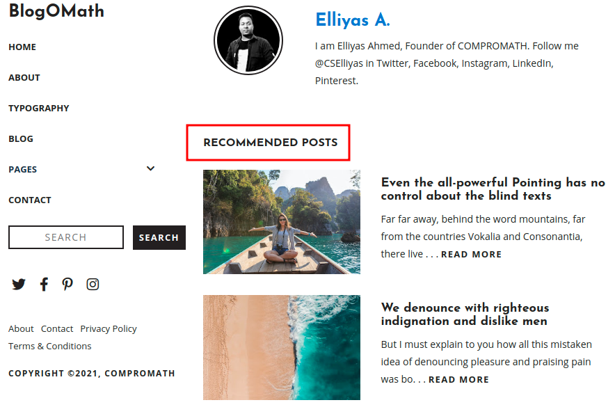 Change Related/Recommended Posts Title Name