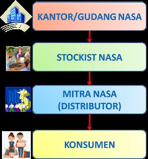sistem pemasaran produk nasa