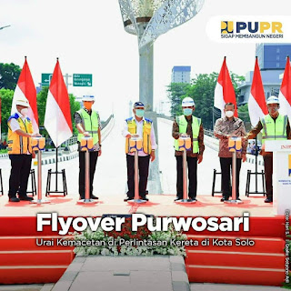 Diresmikan Hari Ini, Flyover Purwosari Bisa Digunakan Masyarakat