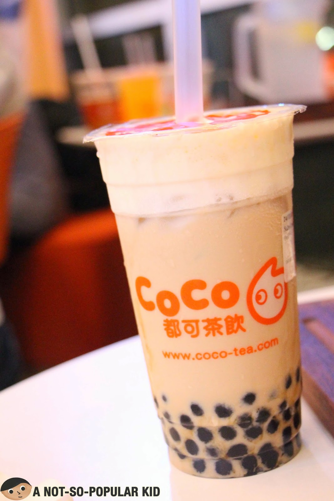 One of the 3 bestsellers - CoCo's Salty Cream Milk Tea