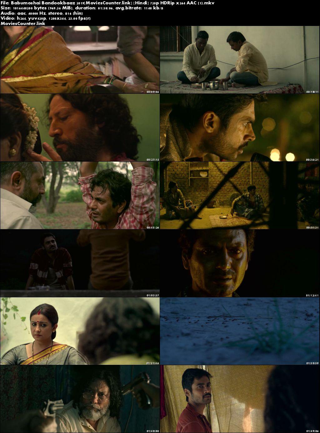 Screen Shots Babumoshai Bandookbaaz 2017 Hindi HD 720p