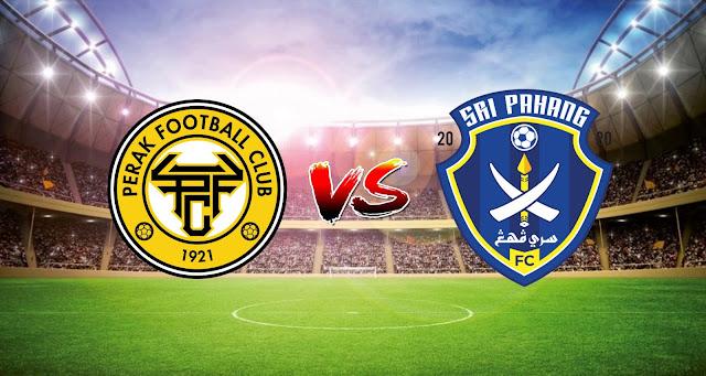 Live Streaming Perak FC vs Sri Pahang FC 9.5.2021 Liga Super