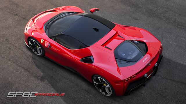 フェラーリSF90ストラダーレ PHEV