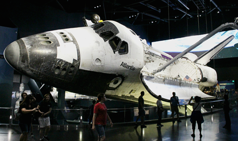 Space Shuttle Atlantis Kennedy Space Center
