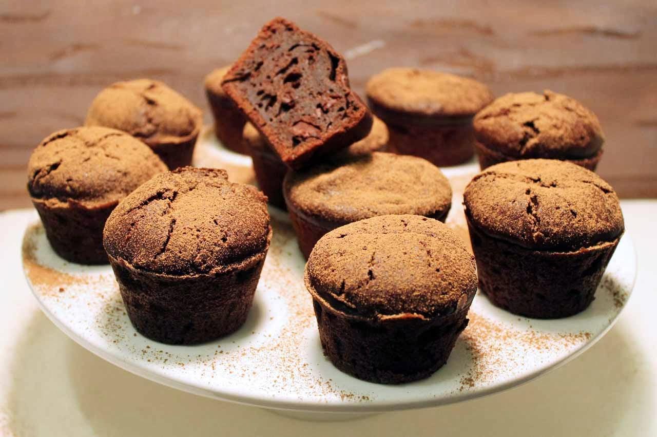 Muffins de Chocolate Diferentes