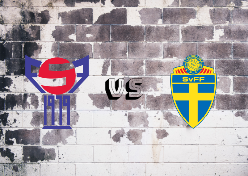 Islas Faroe vs Suecia Resumen y Goles