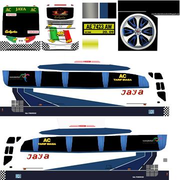 livery bussid jaya bumel hd