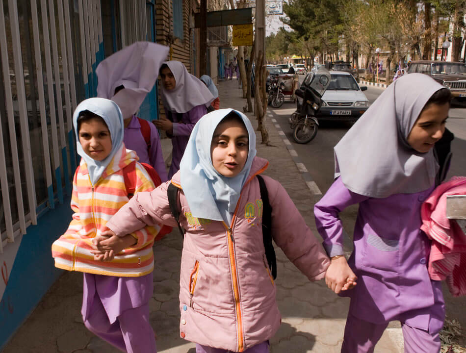 55 Stunning Photographs Of Girls Going To School In Different Countries - Iran