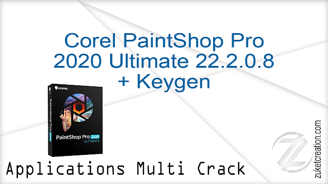 Corel PaintShop Pro 2020 Ultimate 22.2.0.8 + Keygen