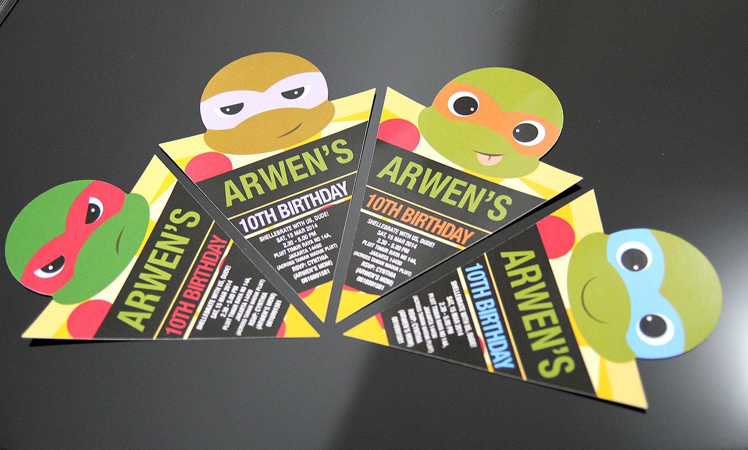 Comment on this picture ulang tahun anak contoh undangan kartu apps - Undangan Ulang Tahun Pizza Ninja Turtle