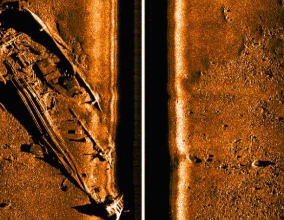 Gambar dari sonar Bluefin-21