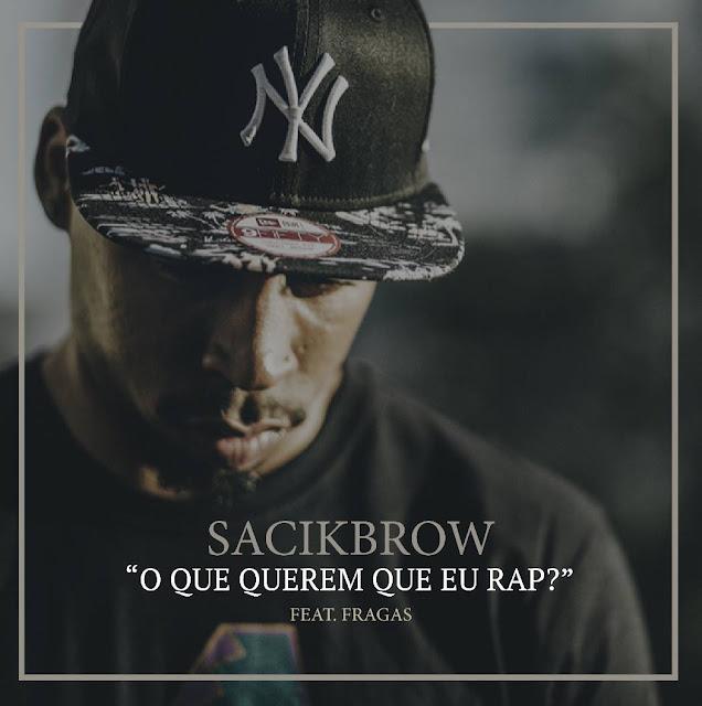 """O rapper português Sacik Brow lança o single """"O Que Querem Que Eu Rap?"""", primeiro single do álbum 'Made In Ghetto Vol. 2"""""""