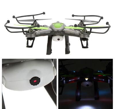 Spesifikasi Drone JJRC H9W - GudangDrone