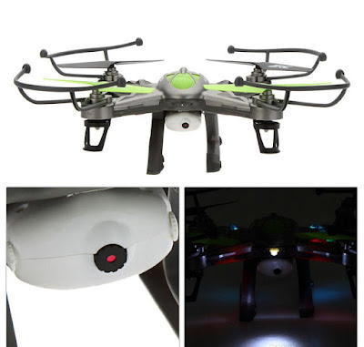 Spesifikasi Drone JJRC H9W - OmahDrones