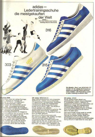 German Adidas Catalogue 1968 Voices Of East Anglia