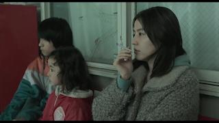 Akiko dan kedua anaknya