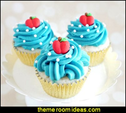 Snow White Cupcake Kit - Snow White Princess Sprinkles Snow White Party cake decorations Apple