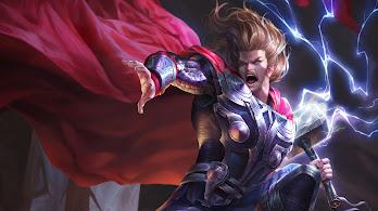 Thor, Hammer, Lightning, 4K, #201