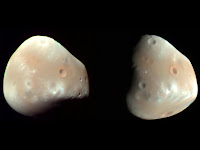 Moons of Mars: Deimos