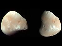 Moons of Mars: Deimos