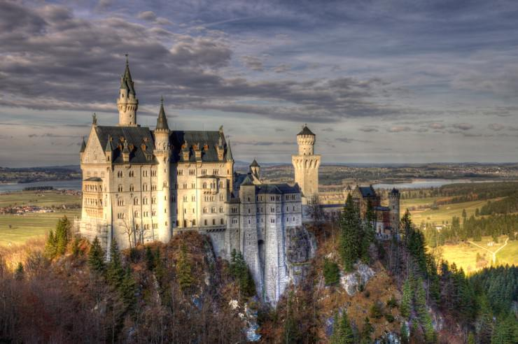 Top 10 Wonderful German Castles - Neuschwanstein Castle