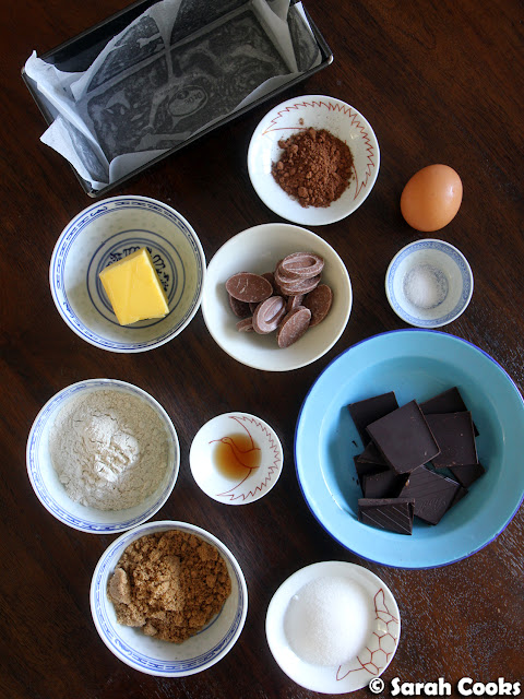 Buckwheat Brownie Ingredients