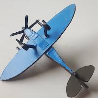Supermarine Spitfire Model from Scrap Plastic Version 3 - Coroplast DIY - CoroplastCreations.com - photos by: HalifaxSportsPhotos.ca