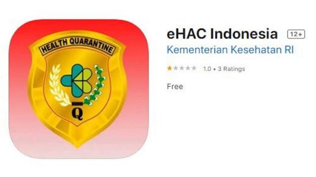 Cara Mengisi eHAC Indonesia